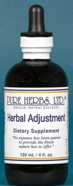 Herbal Adjustment (4 oz.).
