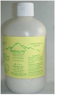 Pascalite clay powder