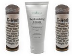 2 x C-herb or CHerb and Replenishing CreamFREE SHIPPING