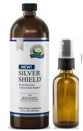 Silver Shield 32 oz. [20ppm]Comes with an empty amber bottle with sprayer