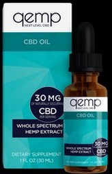 Daily Use Qemp CBD Oil 30mg.